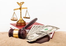 Law gavel Stock Image