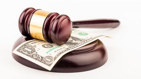 Law gavel Royalty Free Stock Photo