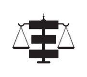 Law Icon Concept Design Royalty Free Stock Photo