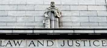 Law and Justice. Is all we need Royalty Free Stock Photography