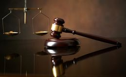 Law and Justice concept Royalty Free Stock Photos