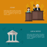 Law and Justice icon design Royalty Free Stock Photography