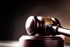 Law. Justice Legal System Gavel Authority Punishment Wood Stock Photography