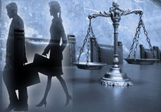 Law and Justice Stock Image