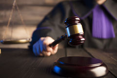 Law and justice theme. Stock Photography