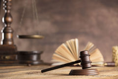Law and justice theme Stock Images