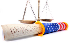 Law and Justice Royalty Free Stock Photography