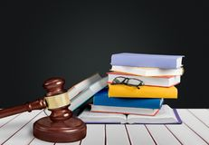 Law. Litigation book legal enforcement family justice royalty free stock photos