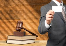 Law, lawyer, books royalty free stock photos