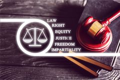 Law. Yer legal suit international prosecutor civil royalty free stock image