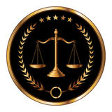 Law or Layer Seal royalty free illustration