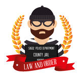 Law and legal justice graphic Stock Photography