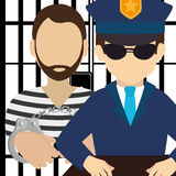 Law and legal justice graphic Royalty Free Stock Image