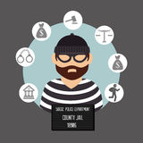 Law and legal justice graphic Stock Images