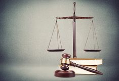 Law. Legal legality attorney document judgement yer Stock Photo