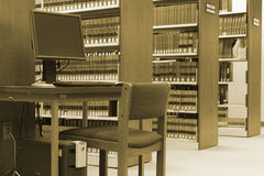 Law Library Royalty Free Stock Images