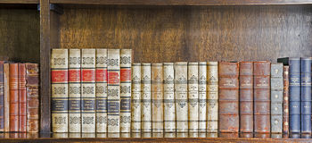 Law Library Royalty Free Stock Photos