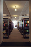 Law Library, Light at the End of the Tunnel Royalty Free Stock Photos