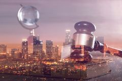 Law. Litigation yer justice trial courtroom jury stock photos