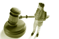 Law man Stock Photography