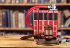 Law. Medical business gavel object photography trial Stock Photos