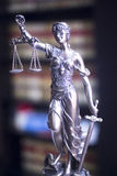 Law office legal statue Stock Image