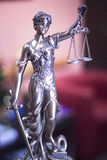 Law office legal statue Royalty Free Stock Photos