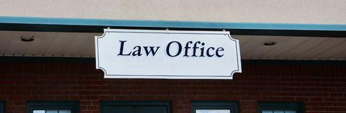 Law Office Royalty Free Stock Photography