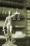Law offices legal statue Themis Stock Images