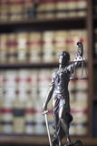 Law offices legal statue Themis Royalty Free Stock Image
