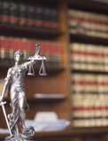 Law offices legal statue Themis Royalty Free Stock Photos