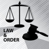Law and order Royalty Free Stock Photography
