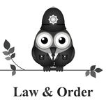 Law and Order UK Stock Image
