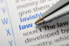 Law Stock Photography