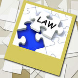 Law Photo Shows Legal Information And Legislation On Internet Stock Photography