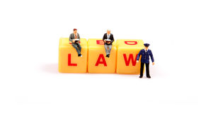 Law protectors Stock Image