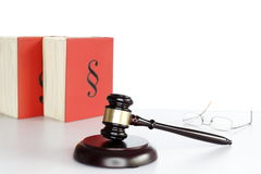 Law and right symbol Stock Image