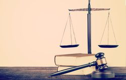 Law rights Stock Image