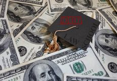 Law School debt Royalty Free Stock Images