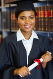 Law school graduate Royalty Free Stock Photo