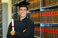 Law school graduate Stock Photos