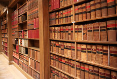 Law school library Stock Images
