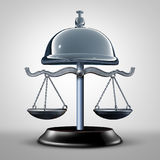 Law Service Symbol Royalty Free Stock Photography