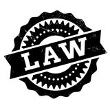 Law stamp rubber grunge. Law stamp. Grunge design with dust scratches. Effects can be easily removed for a clean, crisp look. Color is easily changed Royalty Free Stock Photos