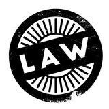 Law stamp rubber grunge Royalty Free Stock Image