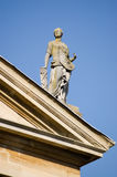 Law Statue, Queen's College, Oxford Royalty Free Stock Photography