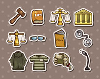 Law stickers Royalty Free Stock Image