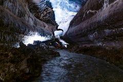 Law struktury w Cueva De Los Verdes, zadziwiająca lawowa tubka i atrakcja turystyczna na Lanzarote wyspie, Hiszpania obraz stock