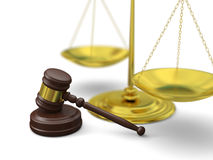 Law symbols Stock Image