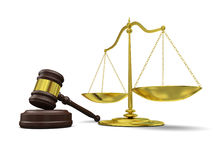 Law symbols Royalty Free Stock Images